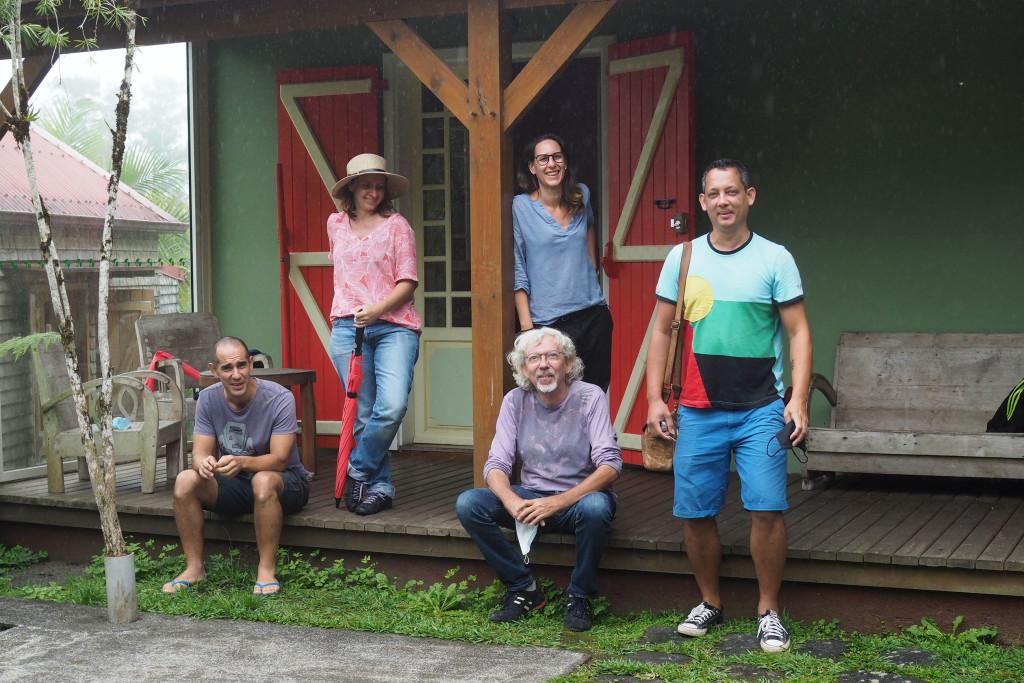 5ème résidence pour le projet Fragments à Hell-Bourg